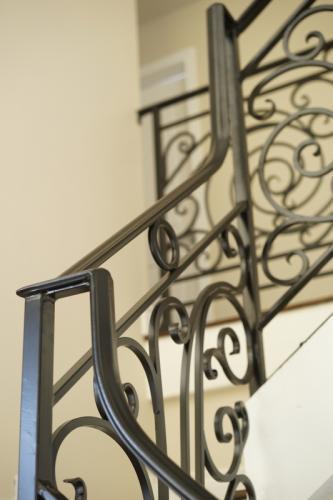 schuvega ironworks staircase railing wrought Iron ornamentle 3