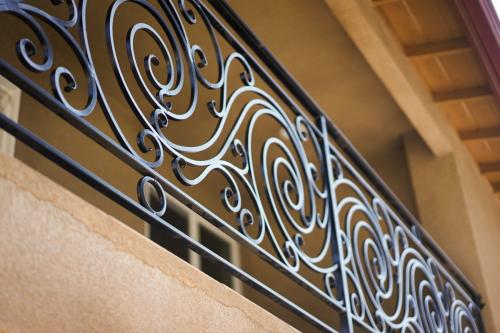 SchuVega Ironworks Balcony Ornamentle Wrought Iron10
