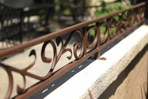SchuVega Ironworks Balcony Ornamentle Wrought Iron7