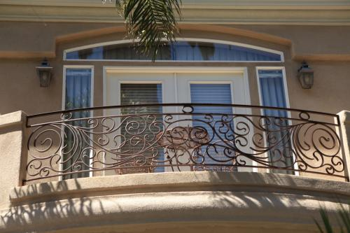 SchuVega Ironworks Balcony Ornamentle Wrought Iron8