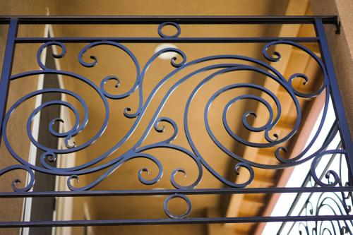 SchuVega Ironworks Balcony Ornamentle Wrought Iron9