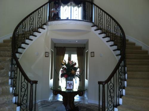 schuvega ironworks staircase railing wrought Iron ornamentle 10