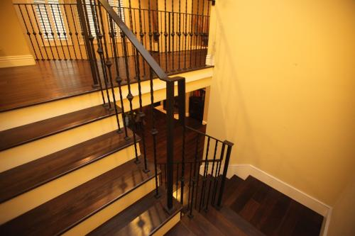 schuvega ironworks staircase railing wrought Iron ornamentle 12