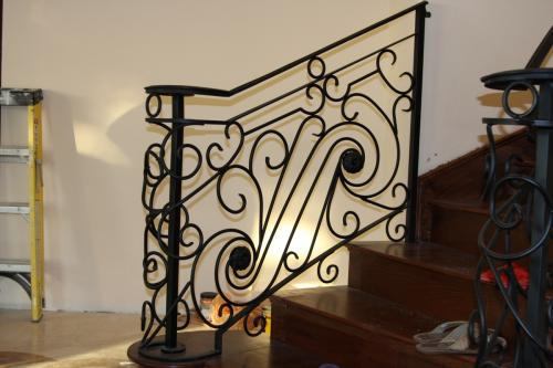 schuvega ironworks staircase railing wrought Iron ornamentle 21