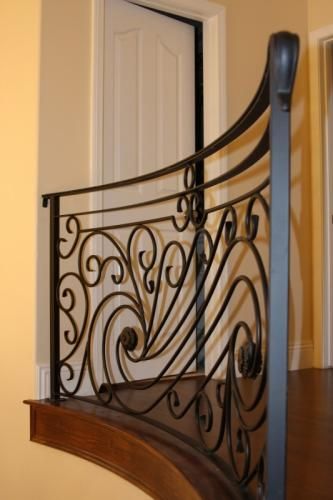 schuvega ironworks staircase railing wrought Iron ornamentle 23