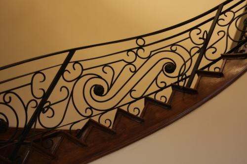 schuvega ironworks staircase railing wrought Iron ornamentle 24