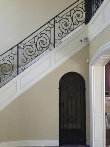 schuvega ironworks staircase railing wrought Iron ornamentle 26