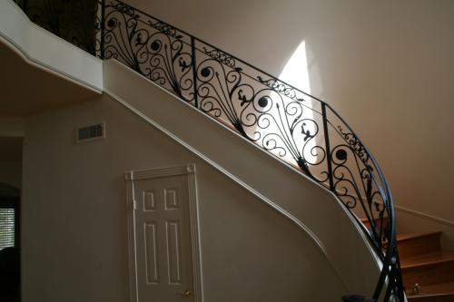 schuvega ironworks staircase railing wrought Iron ornamentle 31